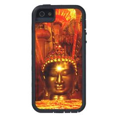 Phone Case | Meditation Buddha Bronze Red