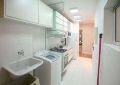 Resultado de imagem para lavanderia acoplada em cozinha