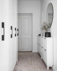 Entry Hallway Floor Hallway Tile Ideas Hall With Narrow Hallway Tiled Floor Narrow Hallway Home Entryway Decor Entryway Shoe Storage, Entryway Decor, Modern Entryway, Narrow Entryway, Wall Decor, Flur Design, Hallway Designs, Hallway Ideas, Entryway Ideas