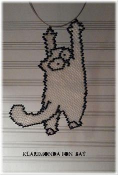 Кошак Саймона | biser.info - всё о бисере и бисерном творчестве