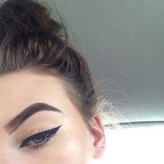 Everything is perfect, except the brows