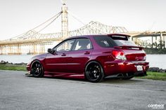I want to convert my wagon rear quarter panels to sedan's like this!!! How Subaru should have made it!