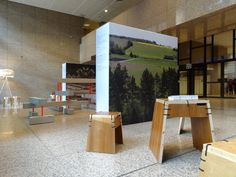 LV presidency (2015 H1) - Decoration of Justus Lipsius: Spriego Pats furniture by Ģirts Arājs (Photo: H2E)