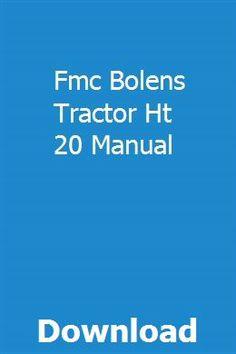 8 Best Bolens tractor images | Bolens tractor, Vintage ...  H Bolens Wiring Diagram on