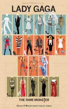 Lady Gaga Outfits The Fame Monster