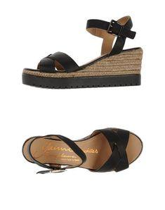 #Gaimo espadrilles sandali donna Nero  ad Euro 36.00 in #Gaimo espadrilles #Donna calzature sandali