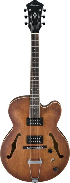 #Ibanez AF55TF: The AF is the benchmark of the Artcore full-hollow bodies. 15.75 inch body is producing rich and complex tones, the AF is the #guitar for the purist in all of us.