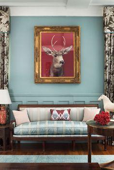Яркий дом дизайнера Шейлы Бриджес в Гарлеме, Нью-Йорк – Красивые квартиры
