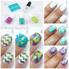 images about Chevron (Nails) Chevron nails