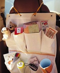 This will surely come in handy on our 15 day road trip in July. Use a shoe caddy to store games and snacks on a long road trip. Do It Yourself Design, Do It Yourself Inspiration, Car Activities, Summer Activities, Road Trip With Kids, Travel With Kids, Family Travel, Stuffed Animals, Shoe Caddy