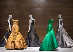 Charles James evening gowns