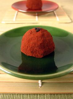 Wasabi Ginger Truffles with Black Sesame