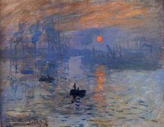 Monet - Impression Sunrise