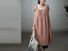 Loose Fitting Long Maxi Dress  Summer Dress Four by colorfulday01, $69.99