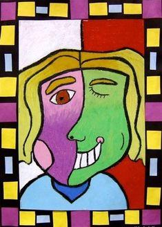 se dessiner à la manière de Picasso