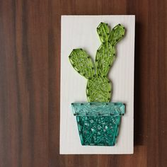 MADE TO ORDER String Art Mini Cactus Sign Style 2