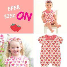 """a5d3847ae5 NaturAnyu on Instagram: """"Ki szereti az epret? 😍🍓🍓🍓😋 like, ha Te is!  Megjöttek ezek a csodaszép epres rucik! Hamarosan elérhetők a boltban!"""