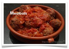 Herby meatballs – The Harcombe Diet Club Diet Club, Beef, Recipes, Food, Meat, Meal, Eten, Hoods, Meals