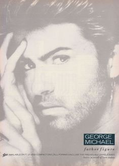 UK Promo ad for George Michael Father Figure single George Michael Poster, George Michael Wham, Father Figure, 80s Music, Ads, Memories, Cover, Press Ad, 1980s