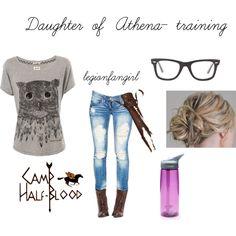Daughter of Athena- Camp Half Blood training