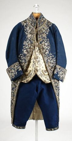 Court suit via The Costume Institute of the Metropolitan Museum of Art