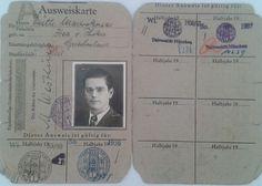 Φοιτητική ταυτότητα του αρχαιολόγου Ευθύμιου Μαστροκώστα (1915-1998), κατά τη διάρκεια των μεταπτυχιακών σπουδών του στο Πανεπιστήμιο Μονάχου (1955-1957).