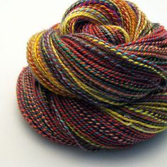 Handspun Yarn - Afterthought - 215 Yards