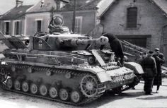 Pz IV Ausf H, From 12 SS Panzer division Hitlerjungend in Rouen France 1944