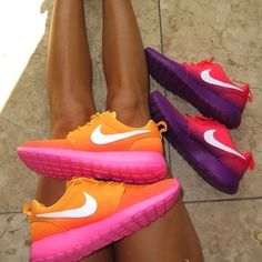 cheap nike shoes Pick it up! summer 2014, sportswear, ropa deportiva, nike, coral, mint, running shoes, women's fashion, #cheap #nike #shoes