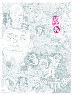 das magische Schweben in seiner modernen Version 50 x 70 cm Bleistift  2019 Modern, 1, Corona, Paper, Levitate, Trendy Tree