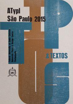 ATypI São Paulo 2015                                                                                                                                                                                 Mais
