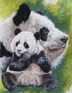 Panda DIY Full Drill Diamond Painting Embroidery Cross Stitch Kit Rhinestone Mosaic Home Decor Craft Panda Art, Panda Love, Cross Stitch Animals, Bear Art, Cross Paintings, Cross Stitch Embroidery, Mammals, Illustration Art, Cute Animals