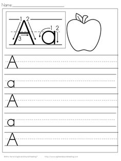 34 Best Free Handwriting Worksheets Images In 2018 Preschool