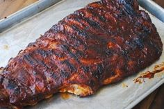 This dry rub baths pork ribs in smoky goodness long before they hit the grill or the oven. It's grilling season, right? Barbeque Sauce, Barbecue, Bbq Sauces, Rub For Pork Ribs, Grilled Italian Sausage, Carolina Bbq Sauce, Spice Rub, Fresh Garlic, Stuffed Peppers