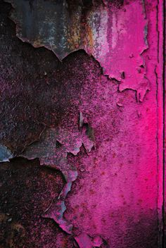 Pink texture and colour inspiration Magenta, Painting Inspiration, Color Inspiration, Patterns Background, Peeling Paint, Texture Art, Pink Texture, Art Graphique, Wabi Sabi