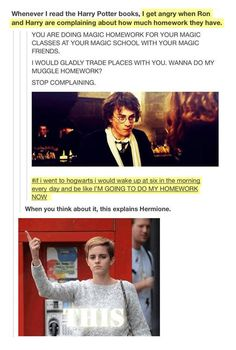 I would be Hermione
