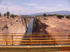Kanal Koryncki-Peloponez Greece
