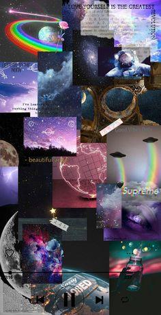 Wallpaper galaxy aesthetic🛸✨