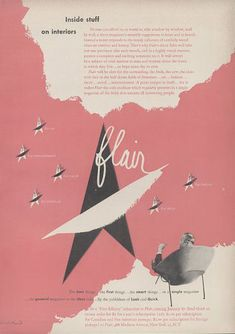Flair Magazine by Paul Rand.