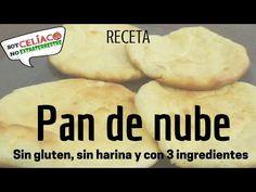 Receta con 3 ingredientes - Pan de nube sin harina y libre de gluten - YouTube