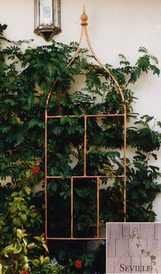 Diy Metal Trellis Plans How To Make A Garden From Copper
