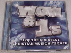 Wow #1s 31 Greatest Christian Music Hits Amy Grant  Avalon Jars of Clay 2 CD Set #Christian