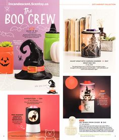 SCENTSY FALL HARVEST HALLOWEEN 2017 SNEAK PEEK | Buy Scentsy® Online | Scentsy Warmers and Scents |