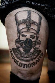 nefertiti tattoo - Google Search