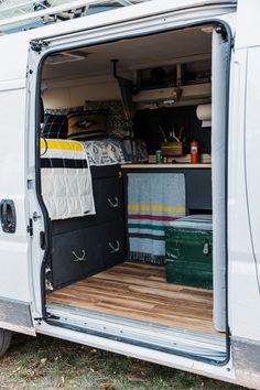 Van Life In Moab Utah Our Promaster Build Pendleton Styled
