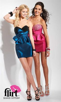 Flirt Dress P5626 at Peaches Boutique