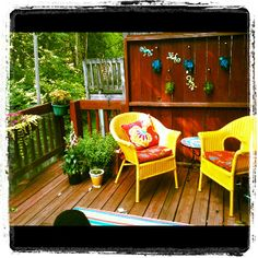 Adult side of small deck