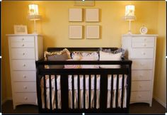 Furnture close to together1 Small Nursery Ideas:Decorating Ideas for a Small Babys Room