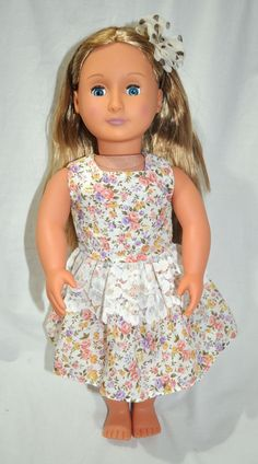 American girl dolls clothes 18 Inch doll from Sew Nice Dolls Clothes and Accessories