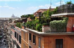 i'll have a rooftop garden in italy one day pinned by @dakwaarde